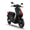 NIU MQi+ Sport Scooter in zwart met rode streep 45km uitvoering (M+ Sport)