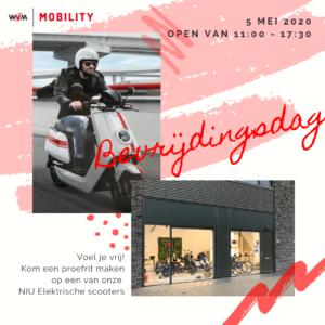 WvM-Mobility op bevrijdingsdag open